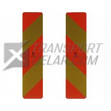 Lastbilsreflex ECE 70,01självhäftande