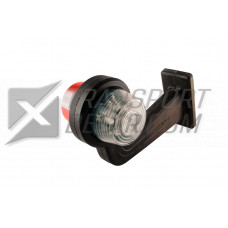 Positionslampa Röd / Vit LED