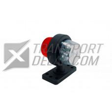 Positionslampa Vit/röd LED