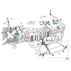 Slangkit Z 45/75-90/110 inkl. tätningsbrickor