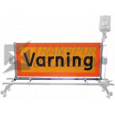 Varningsskylt med takfäste