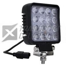 Arbetsbelysning 12-32V LED 25W 2200lm - 16 Dioder
